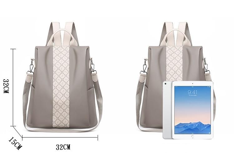 Fashion Women Backpack Rucksack backpacks for women,backpack bags,backpack oxford outdoor Black 32cm*32cm*15cm 25