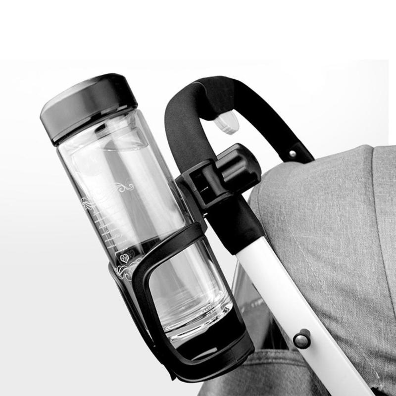 Baby Stroller Bottle Holder Infant Stroller Bicycle Carriage Cart Accessory Plastic Bottle Cup Holder Outdoor 3