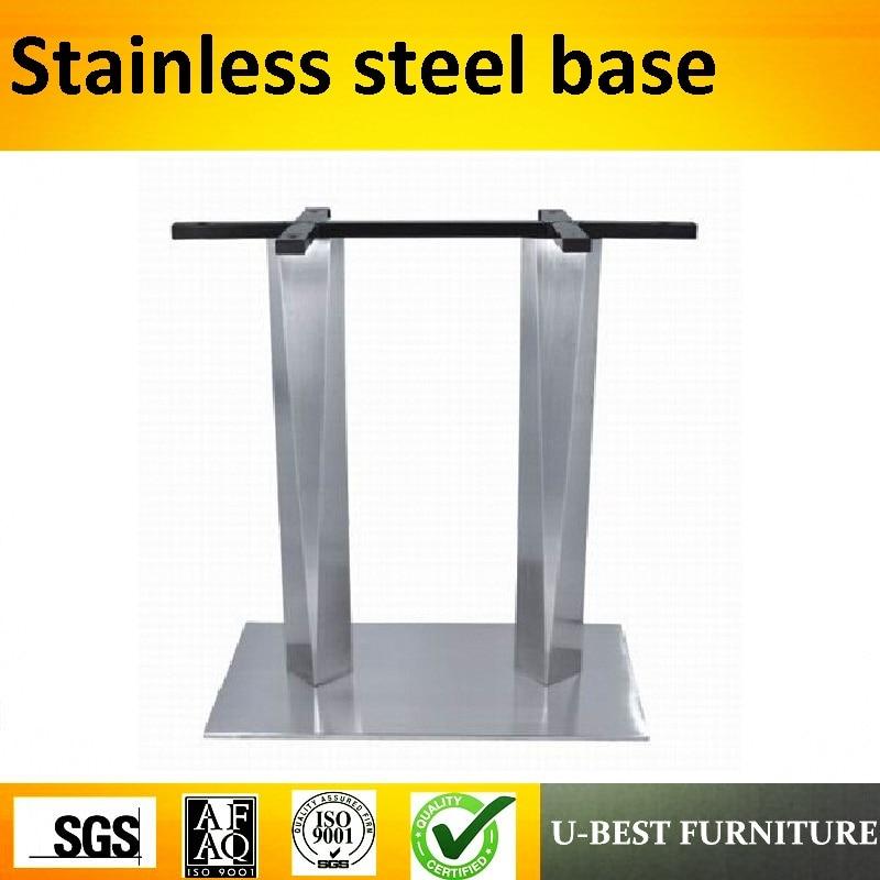 купить U-BEST Furniture Parts Office Table Leg OEM Custom Metal Tube Square Table Base for Sale по цене 4419.84 рублей