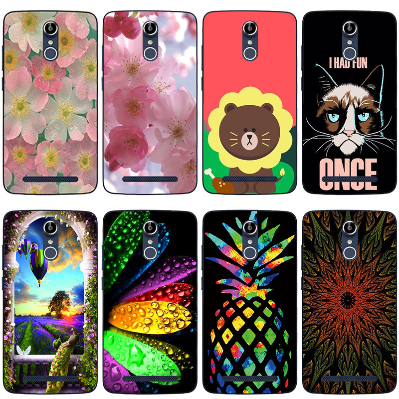"""For Coque Doogee Homtom HT17 Scenery Phone Case Homtom HT17 Pro Capa Soft TPU Silicone Cover For Homtom HT 17 5.5"""" Cases(China)"""