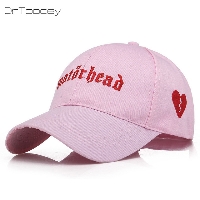 1e0641d115a996 Newest Heartbreak Embroidered Dad Hat Lovely Baseball Cap Summer For Men  Women Snapback Caps Unisex Hip Hop Trucker Hat