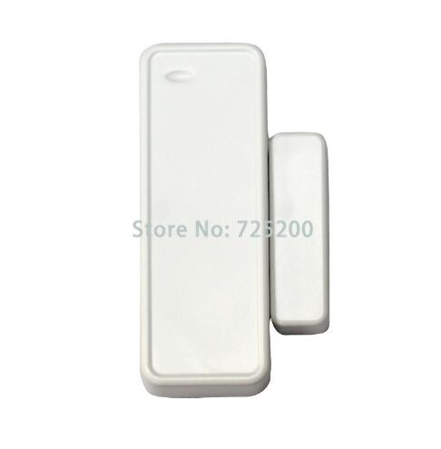20pcs/lot free shipping 433mhz wireless window door open alarm sensor gap detector magnetic contact for G90B,G90E,S2G yobangsecurity wireless door window sensor magnetic contact 433mhz door detector detect door open for home security alarm system