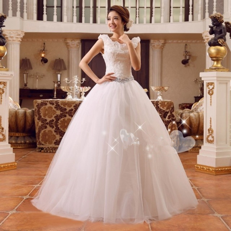 2015 hot sale on storage cheap price wedding dress marriage party ...