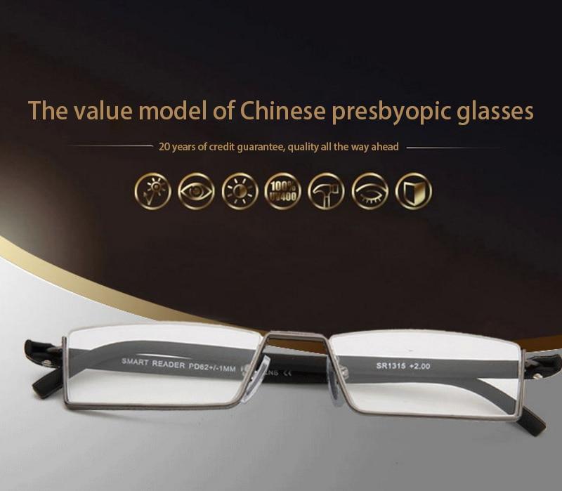 TR-90 Half Frame Slim Portable Black/Red/Brown Reading Glasses Anti-blue light With Box +1.0 +1.5 +2.0 +2.5 +3.0 +3.5 +4.0