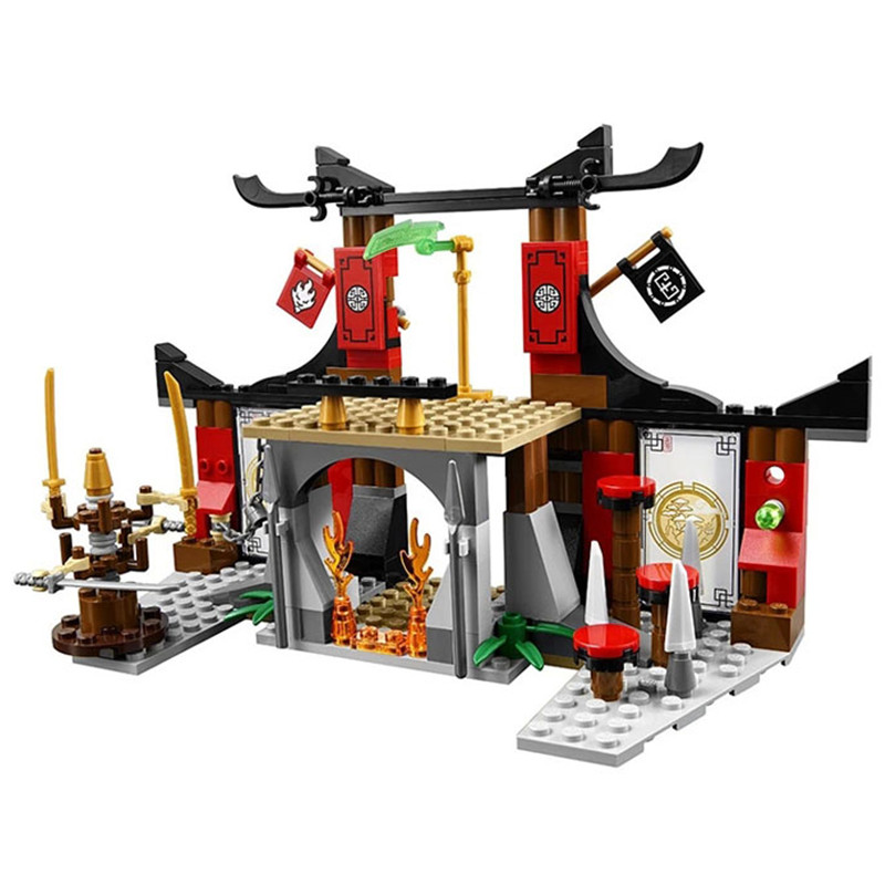 21BELA 10319 Dojo Showdown Lepin Jouet De Construction Building Block as SY335 Educational Toys