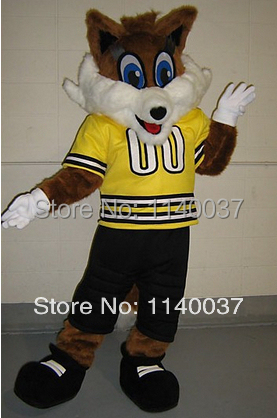 mascot Happy Fox mascot costume custom fancy costume anime cosplay kits mascotte theme fancy dress carnival