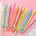 Акварель гелевая ручка набор 12 24 36 цвета воды микрон волоконные ручки написание эскиз канцелярских товаров Канцтовары для школы и офиса A6261