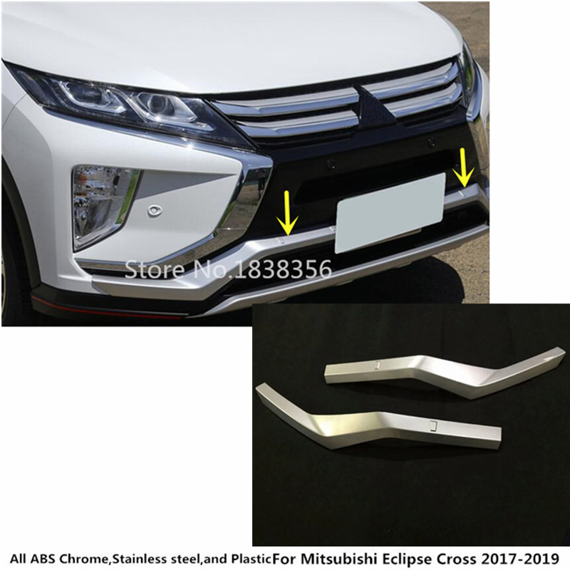 Careful For Mitsubishi Eclipse Cross 2017 2018 2019 Car Body Styling Cover Trim Outside External Door Bowl Stick Lamp Frame Panel 4pcs Chromium Styling Auto Replacement Parts