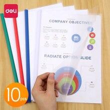 Deli 1 упаковка 10 листов прозрачные a4 307*216 мм обложки для
