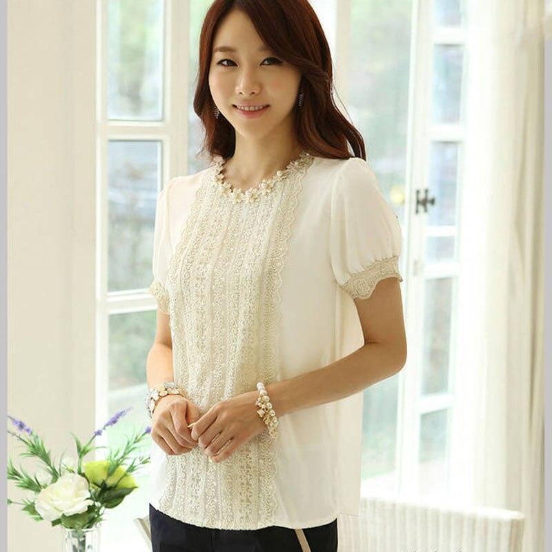 Camisa Social Feminina Blusa De Renda Manga Longa Women Tops And Blouses 2016 New Fashion Shirt