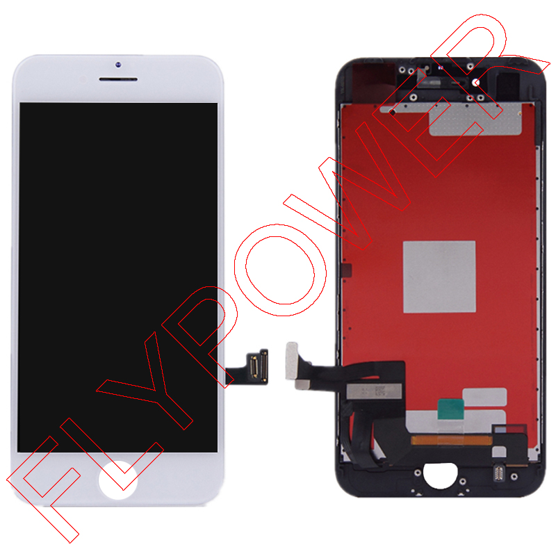 For iPhone 7 7g 4.7 LCD Screen Display with Touch Screen Digitizer Assembly free shipping; Black and White; 100% warranty 1 pcs for iphone 4s lcd display touch screen digitizer glass frame white black color free shipping free tools