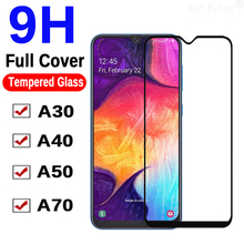 9H Glass On A50 For Samsung Galaxy SM A30 A40 A70 SamsungA A 50 40 30 70 A505 A505F SamsungA50 Protective Tempered Safety