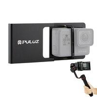 PULUZ Mobile Téléphone Cardan Interrupteur Mont Plaque Adaptateur Compatible pour GoPro HERO6/5/4/3 +/3 De Poche Cardan Caméra Accessoires