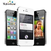 """Apple iPhone 4S 16 ГБ 3G WIFI GPS 8MP 1080P 3,"""" IPS 960x640px разблокированный мобильный телефон с сенсорным экраном"""