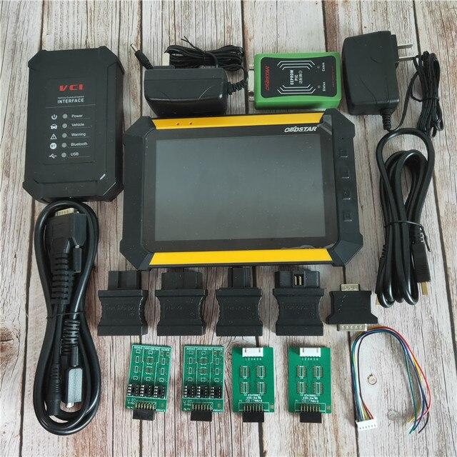 Stokta OBDSTAR X300 DP PAD Tablet Tanı ve Otomatik Anahtar Programcısı Tam Yapılandırma Hızlı kargo Ile