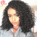 New Arrival Virgin Brazilian Human Hair Tight Curly Clip In Hair Extensions African Americans Clip In Human Hair Extensions