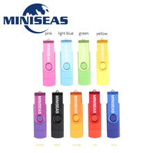 Miniseas USB Flash Drive Smart Phone OTG 64gb 32gb 16gb 8gb pendrive external storage Pen Drive usb memory stick Flash Drive
