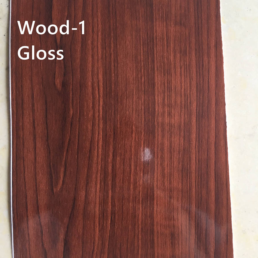 gloss wood grain wood texture car wrapping film exterior interior wrap 3m 1080 (3)