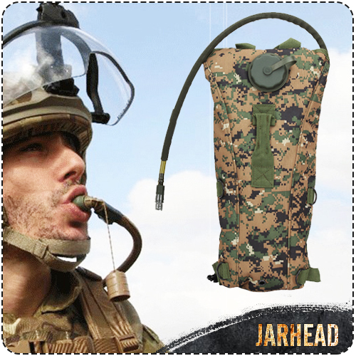 Outdoor 3L Hydration Water Bag TPU Bicycle Sports Military Jungle Hunter Camping Hiking Climbing Bags Of Water