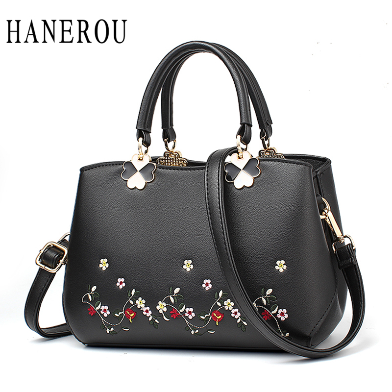 Fashion Embroidery Flowers Women Handbags High Quality Women Leather Handbags New Sequined Crossbody Bags For Women Bag Hot Sac new national embroidery bags high quality women fashion shoulder