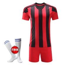 2018 nuevo fútbol Kits de fútbol niños fútbol establece Jersey uniformes niño  entrenamiento deportivo corta( c78f9f6a45592