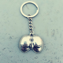 New Creative Single Male Female Gift Sale Exaggerated Genital Key Chain Pendant Nude Car Ring Jewelry