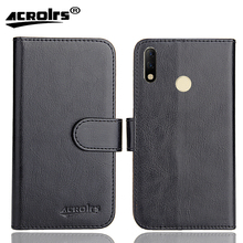 Tecno Spark 3 Pro Case 6 Colors Dedicated Soft Flip Leather Special Crazy Horse Phone Cover Cases Credit Card Wallet