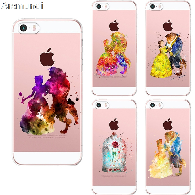 Arsmundi font b 2018 b font New Arrival Beauty And The Beast Phone Cases for font