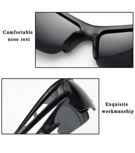 Image 5 - Explosion proof sunglasses, mens outdoor sports goggles, bicycles, electric cars, motorcycles, windproof glasses