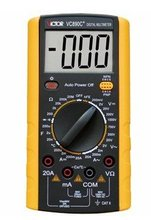 Car Large LCD DMM/Digital Multimeter/Ohm Voltmeter Temperature Measurement Meter/ohm meter for large range measure