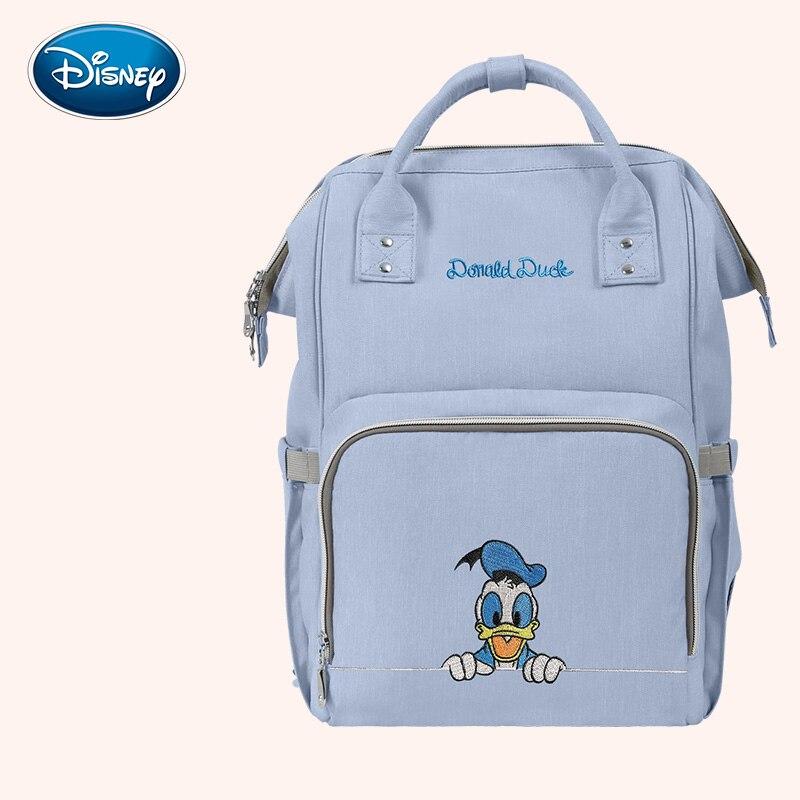 Disney Grande Capacité Bolsa Maternidade Bébé Sac À Langer Poussette Sac à Langer Baby Care Sacs à Couches Sac À Dos Voyage Sac À Dos