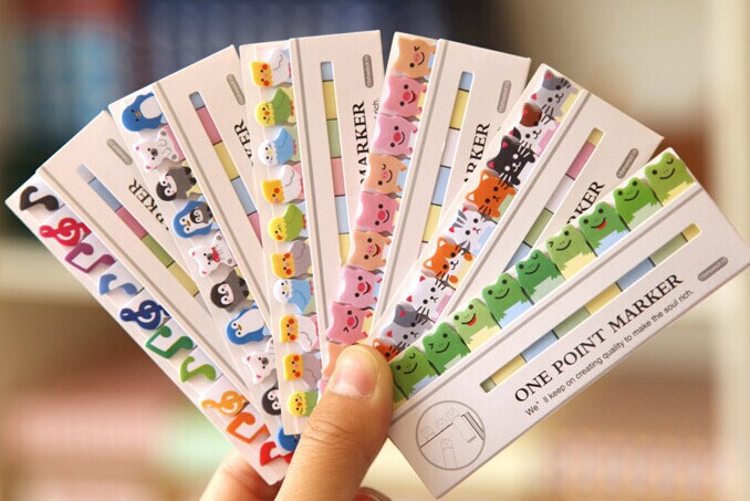 1pcs/lot New cartoon Animal MiNi Notepad cute Sticky Note Memo Message Post Writing scratch pad