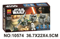 BELA 10574 Star Wars 7 La Fuerza Despierta Alianza Rebelde Battle Pack De Figuras De Accion