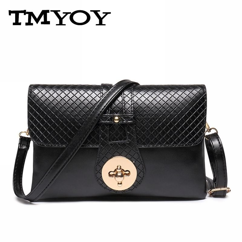TMYOY2016 New patten splite Leather Women Crossbody Bag Handbag Shoulder Purse Evening Clutch Messenger DB5054