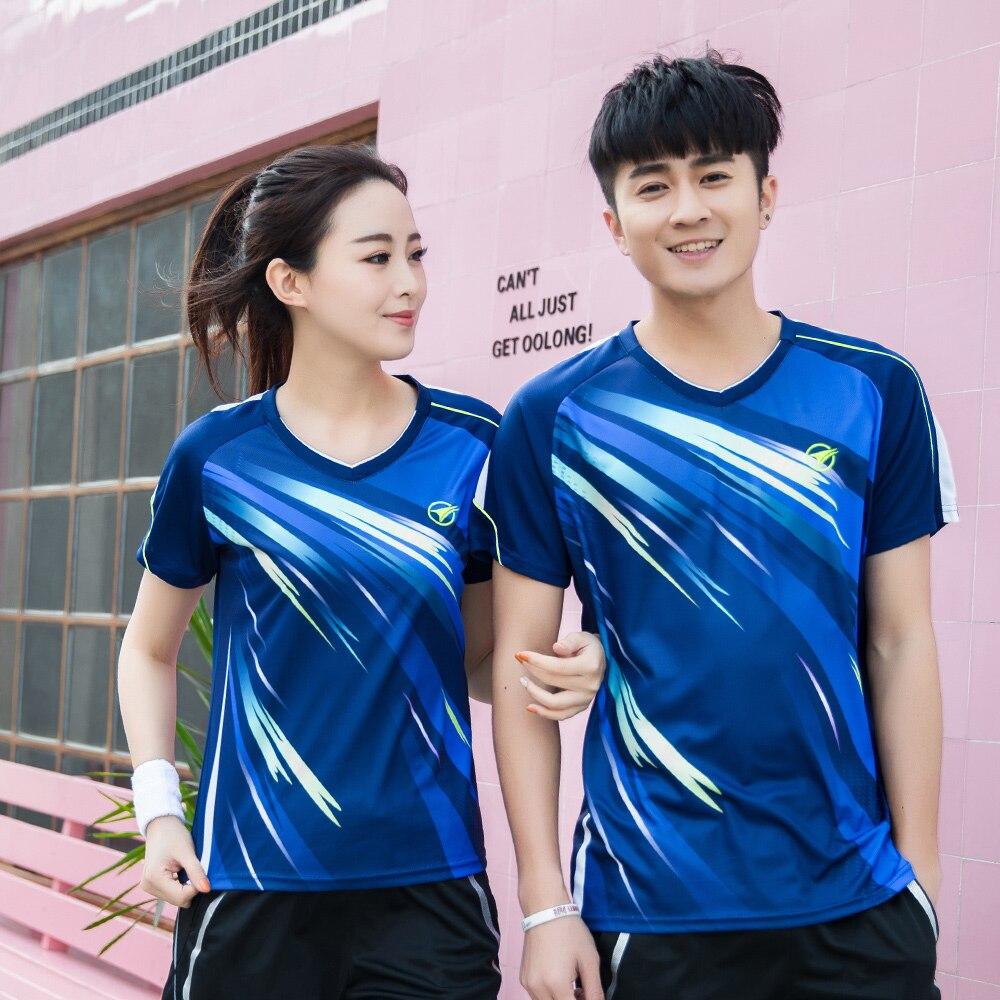New Quick dry Badminton sports shirt, Tennis shirt Male/Female ,Badminton Table Tennis Jerseys ,Tennis T-shirts A117
