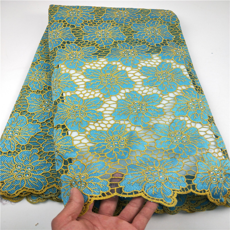New Designs African French Lace Fabric High Quality Nigeria 