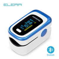 ELERA Bluetooth Finger Pulse Oximeter SPO2 PR PI Oximetro De Dedo Blood Oxygen Saturation Pulsioximetro Health