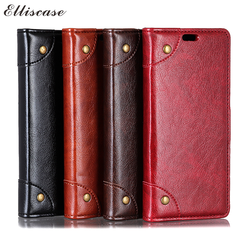 Flip Leather Case on sFor Fundas ASUS ZenFone Max Plus M1 ZB570TL Case For Coque ASUS ZB570TL Cover Luxury Wallet Phone Cases