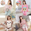 Cute M-3xl Pregnant Lactating Fitted Long-sleeved Pajama Suits Month Of Breast-feeding Breastfeeding Clothes Casual Tracksuit