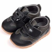 Leather Baby Sneakers Casual Baby Shoes Blue Toddler Kids Shoes Baby Crib shoes For boys Infant Moccasins First Walker