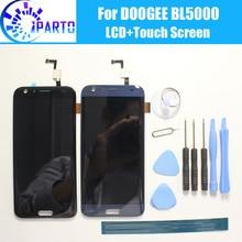 ЖК дисплей DOOGEE BL5000 + сенсорный экран, 100% оригинал, протестированный ЖК дигитайзер, сменная стеклянная панель для DOOGEE BL5000
