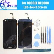 DOOGEE BL5000 LCD תצוגה + מסך מגע 100% מקורי נבדק LCD Digitizer זכוכית פנל החלפת DOOGEE BL5000