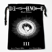 Custom Death Note Drawstring Bags Custom Storage Bags Storage Printed gift bags More Size 27x35cm Compression Type Bags
