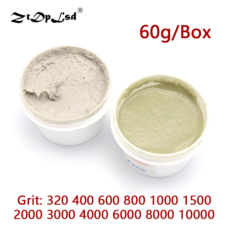 60g/Pcs W0.5 ~40 Diamond Grinding Paste Metal Mould Stainless Steel Mirror Surface Jade Polishing Water Oil Dual-used Lapping
