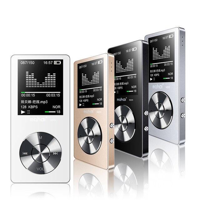 מהדי M220 מתכת MP3 נגן נייד דיגיטלי אודיו נגן עם 1.8 inch מסך FM ספר אלקטרוני שעון נתונים מוסיקה נגן רמקול TF כרטיס
