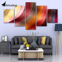Декоративная живопись 5 шт парикмахерские плакаты hd печатная