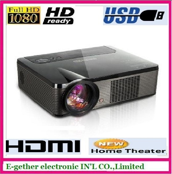 hot sale for LED projector 2600 LED lumens Full  HD1080 ,New home theater Video Projector