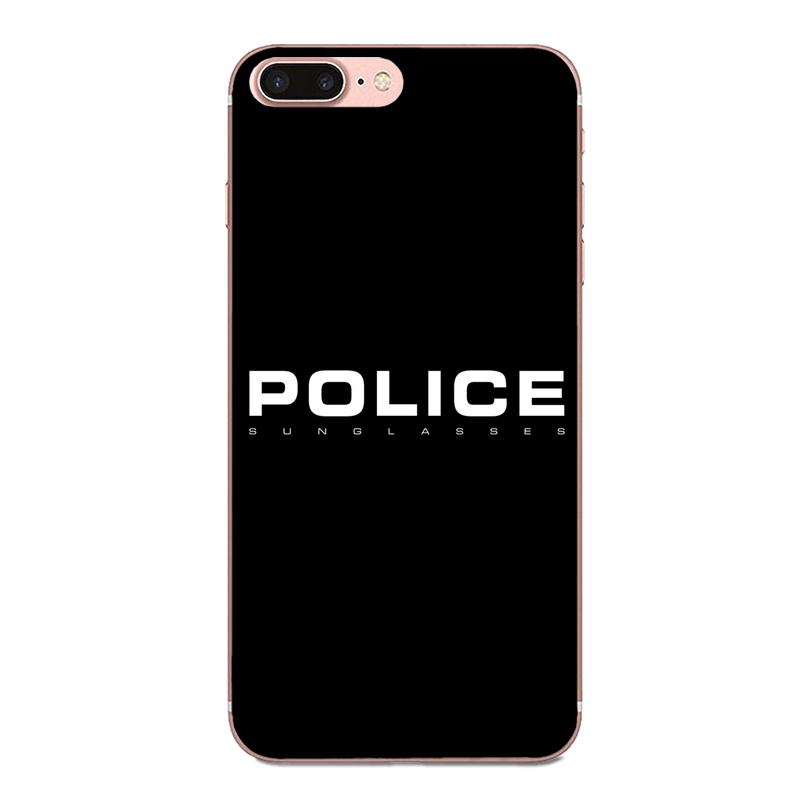 Oedmeb Soft Cell Phone Case Cover Police Symbol For Apple Iphone 4