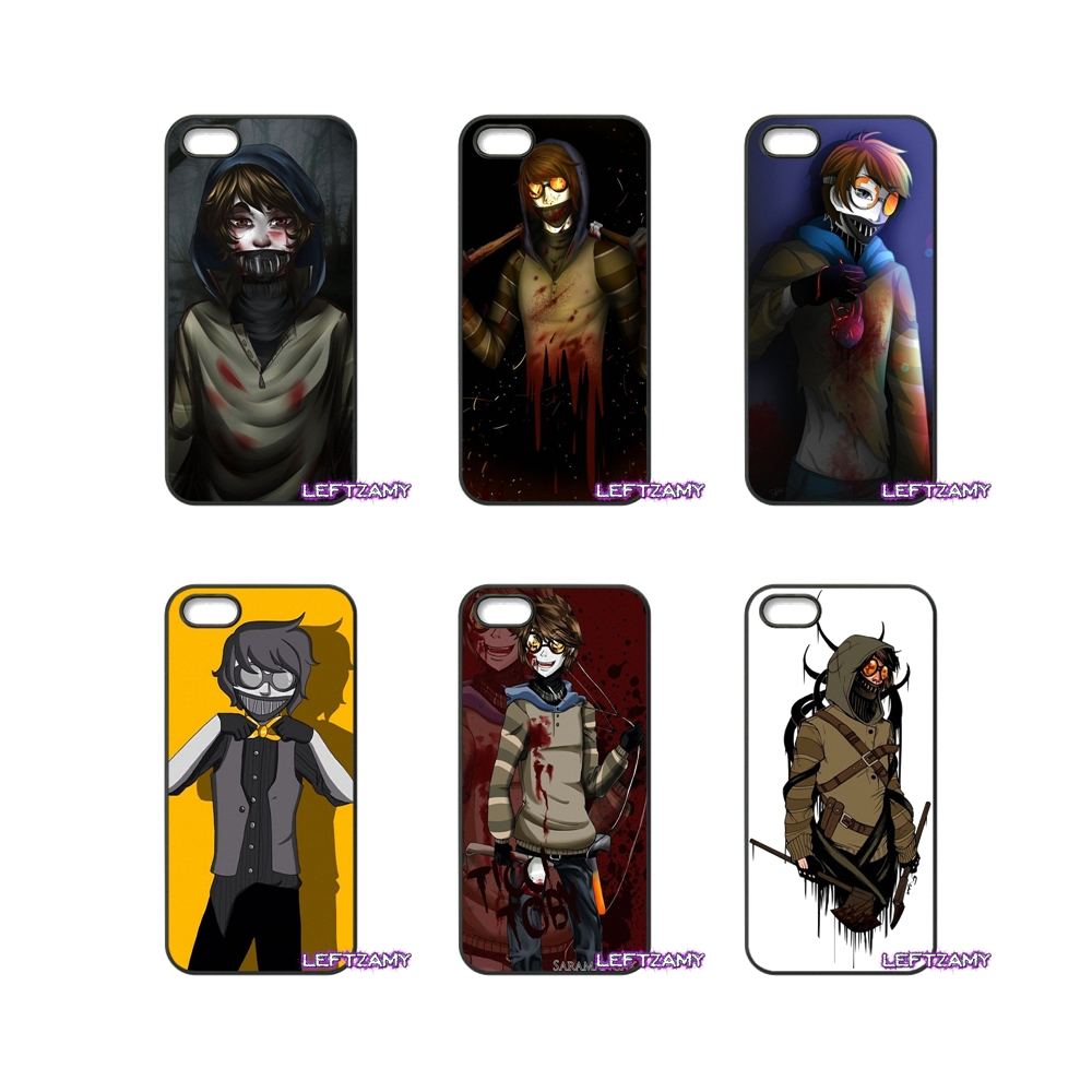 US $4 96 |Creepypasta Ticci Toby x reader Phone Case Cover For Samsung  Galaxy Note 2 3 4 5 8 S2 S3 S4 S5 MINI S6 S7 edge Active S8 Plus-in