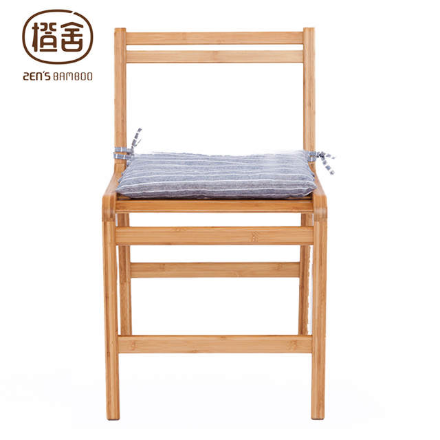Bamboo Dining Chair Grey Swivel Online Shop Office Arm Backrest For Placeholder Living Room Kitchen Furniture